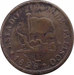 Moneda > ¼real, 1828-1835 - México  - obverse