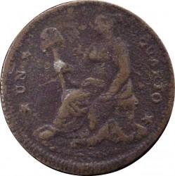 Moneda > ¼real, 1828-1835 - México  - reverse