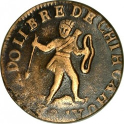 Moneda > ¼real, 1846 - México  (Native American on the obverse) - obverse