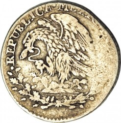 Moneda > 1real, 1824 - México  - obverse