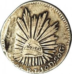 Moneda > 1real, 1824 - México  - reverse