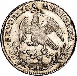 Moneda > 2reales, 1825-1872 - México  - obverse