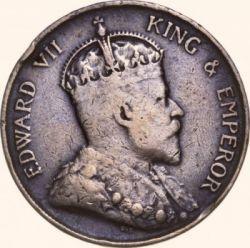 Coin > 1cent, 1902-1905 - Hong Kong  - obverse
