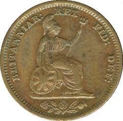Moneda > ½farthing, 1837 - Reino Unido  - reverse