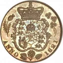 Монета > 6пенсів, 1821 - Велика Британія  - reverse
