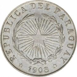Moneda > 5centavos, 1908 - Paraguay  - obverse