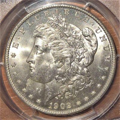 1 dollar 1902 - Morgan Dollar, USA - Coin value - uCoin.net