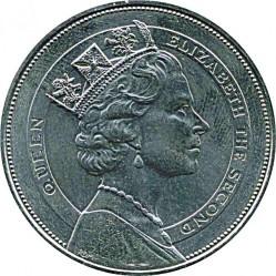 سکه > 10دلار, 1985 - سنت وینسنت و گرنادینس   (Royal Visit of Queen Elizabeth II) - obverse