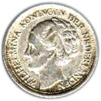 العملة > 10سنت, 1942 - سورينام  - obverse