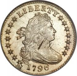 Münze > 1dime, 1796-1797 - USA  (Draped Bust Dime) - obverse
