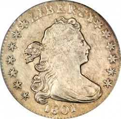 Munt > 1dime, 1798-1807 - Verenigde Staten  (Draped Bust Dime) - obverse
