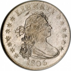 Munt > ¼dollar, 1804-1807 - Verenigde Staten  (Drapped Bust Quarter) - obverse