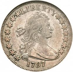 Moneda > ½dólar, 1796-1797 - Estados Unidos  (Draped Bust Half Dollar) - obverse