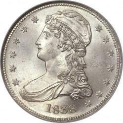 Munt > ½dollar, 1838-1839 - Verenigde Staten  (Capped Bust Half Dollar) - obverse