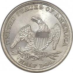 Munt > ½dollar, 1838-1839 - Verenigde Staten  (Capped Bust Half Dollar) - reverse