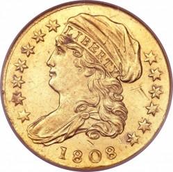 Munt > 2½dollars, 1808 - Verenigde Staten  - obverse