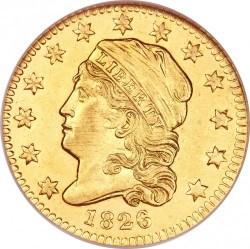 Munt > 2½dollars, 1821-1827 - Verenigde Staten  - obverse