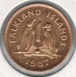 سکه > 1پنی, 1974-1992 - جزایر فالکلند  - reverse
