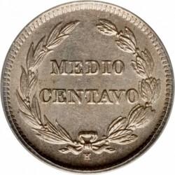 Pièce > ½centavo, 1909 - Équateur  - reverse