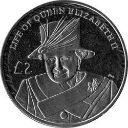 Mynt > 2pounds, 2012 - Sydgeorgien  (Life of Queen Elizabeth II - Elizabeth II with Hat) - reverse