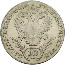Monedă > 10сreițari, 1817-1824 - Austria  - reverse