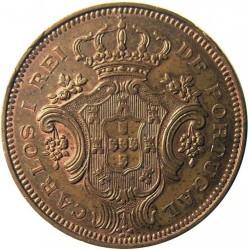 Moneta > 10realų, 1901 - Azorai  - obverse
