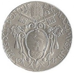 Moneta > 2liry, 1940-1941 - Watykan  - obverse