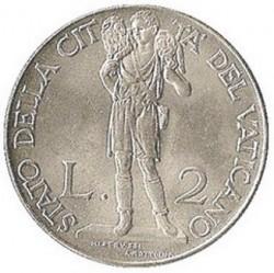 Moneta > 2liry, 1940-1941 - Watykan  - reverse