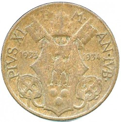 Moneta > 10centesimi, 1933 - Watykan  - obverse