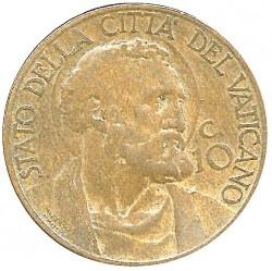 Moneta > 10centesimi, 1933 - Watykan  - reverse