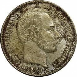Moneda > 4skillingrigsmont, 1867-1874 - Dinamarca  - obverse