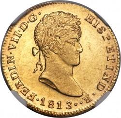 Moneta > 2scudi, 1811-1813 - Spagna  - obverse