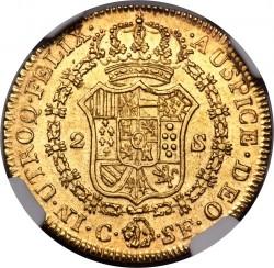 Moneta > 2scudi, 1811-1813 - Spagna  - reverse
