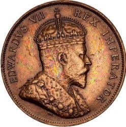 Монета > 1пиастр, 1908 - Кипр  - obverse