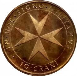 Münze > 10Grani, 1983 - Souveräner Malteserorden  - reverse