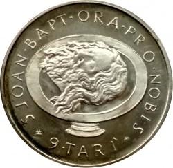 Münze > 9Tari, 1980 - Souveräner Malteserorden  - reverse