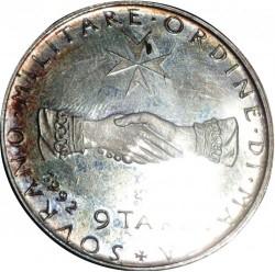 Münze > 9Tari, 1992 - Souveräner Malteserorden  - reverse