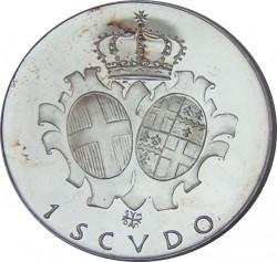 Монета > 1скудо, 1971-1973 - Малтийски орден  - reverse