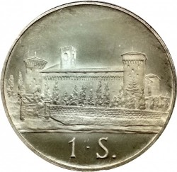 Münze > 1Scudo, 1979 - Souveräner Malteserorden  - reverse