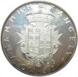 Νόμισμα > 2Σκούδα, 1962-1963 - Κυρίαρχο Στρατιωτικό Τάγμα της Μάλτας  - obverse
