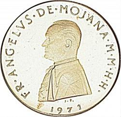 Монета > 5скуди, 1971-1975 - Малтийски орден  - obverse