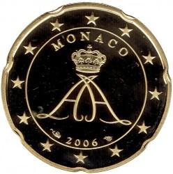 Monēta > 20eurocent, 2006 - Monako  - obverse