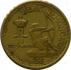Кованица > 50центи, 1926 - Монако  - obverse