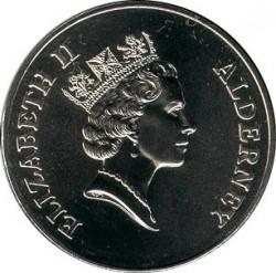 العملة > 2جنيه, 1997 - آلدرني  (World Wildlife Fund) - obverse