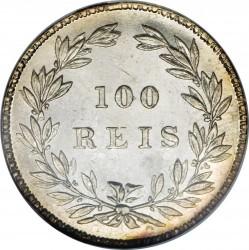 Монета > 100рейса, 1857-1861 - Португалия  - reverse