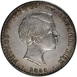 Кованица > 500реиса, 1854 - Португал  - obverse