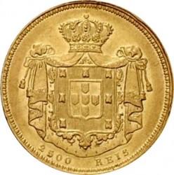 Монета > 2500рейса, 1838 - Португалия  - reverse