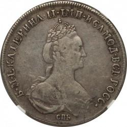 Monēta > 50kapeiku(poltiņiks), 1777-1779 - Krievija  - obverse