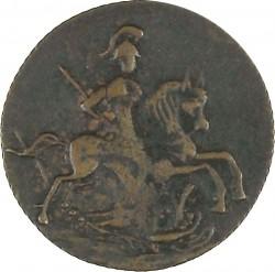 Pièce > ½kopek(1denga), 1762 - Russie  - obverse