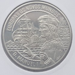 Moneta > 2½ECU, 1994 - Portugalia  (Europa i Nowy Świat - Manuel I) - obverse